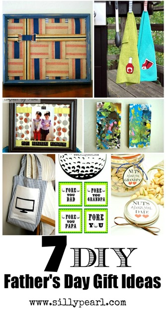 DIY Fathers Day Gift Ideas - The Silly Pearl