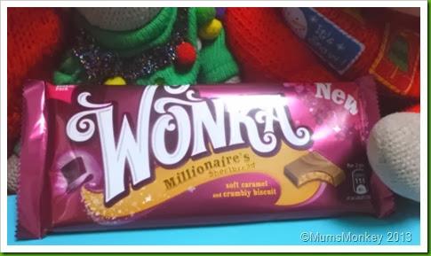 Nestle Millionaire's Shortbread Wonka Bar