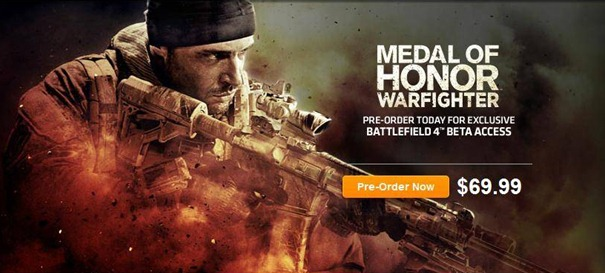 Beta de Battlefield 4 vira com a pre-venda de Medal of Honor: Warfighter