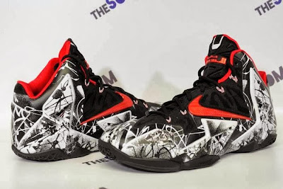 nike lebron 11 gr freegums graffiti 5 02 Nike LeBron XI Home Graffiti Official Release Date