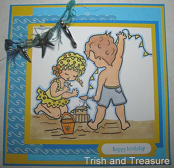 Beach Babies card 008