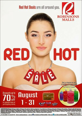 Robinsons Malls Red Hot Sale 01