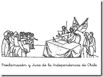 Proclamación y Jura de la Independencia de Chile 1
