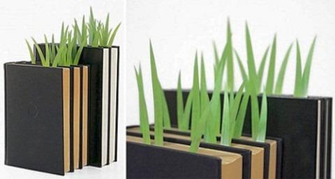 Зеленые закладки для книг