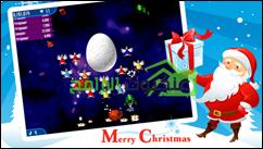 لعبة غزو الفراخ كريسماس فيرجن للأندرويد Chicken Shoot Xmas - 3