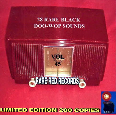 Rare Black Doo-Wop Sounds Vol. 45 - 29 - Front