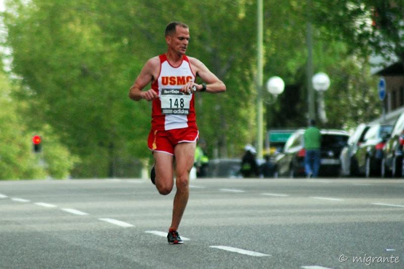 tomando el tiempo - maraton - madrid