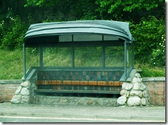 bus shelter avoch