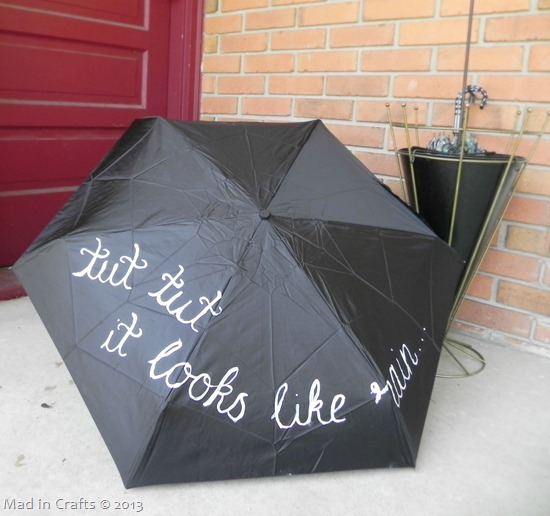 Handpainted Umbrella