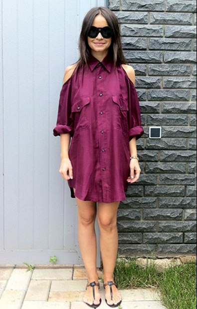 american-apparel-shirt-dress_roger-vivier-heels