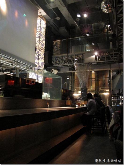 台北-三四味屋,廚房吧台