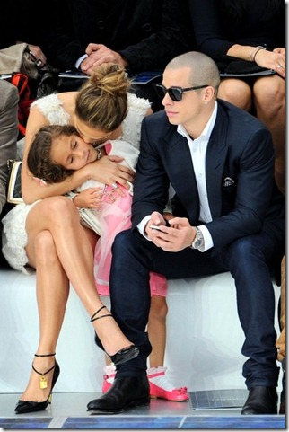 JLo sits front row Chanel Emme h4pfFDPOf1Al