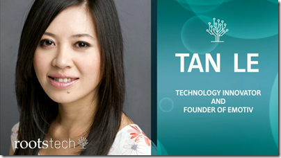 Tan Le was the final keynote at RootsTech's opening session