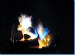 7444 Restoule Provincial Park - evening fire