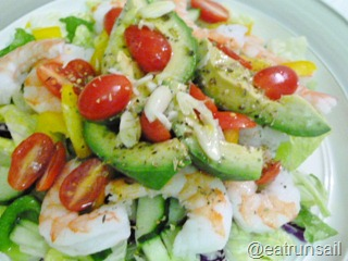 Jan 6 Avocado and Shrimp Salad 002