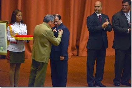 Medalla a Fernando