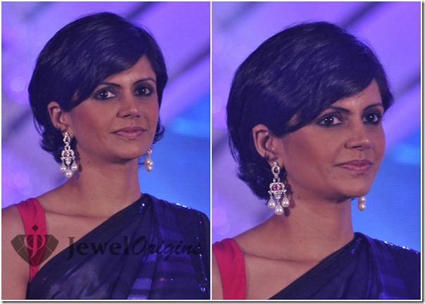 Mandira_Bedi_Diamond_and_Pearl_Earrings