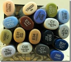 Bule Bird markers