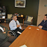 Meeting with Joe Bravo, Executive Director of Putnam Independent Living Services (PILS)