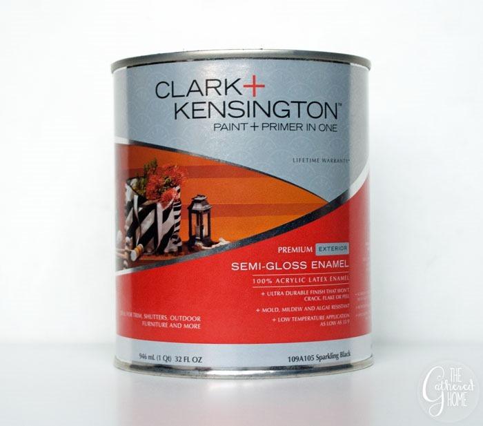 Clark Kensington exterior semi-gloss paint