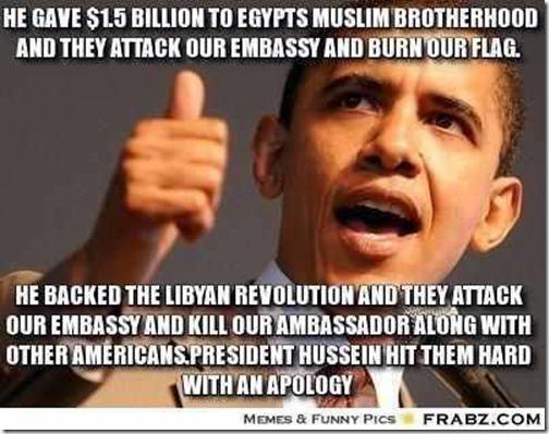 OBAMA apology  TO MUSLIMS