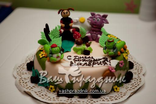 Детские торты на день рождения — на 1