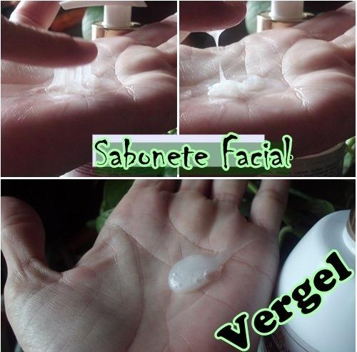 Sabonete facial da Vergel que clareia a pele!