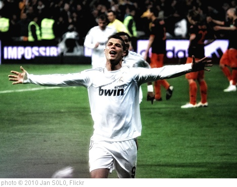 'Cristiano Ronaldo tras el gol' photo (c) 2010, Jan S0L0 - license: http://creativecommons.org/licenses/by-sa/2.0/