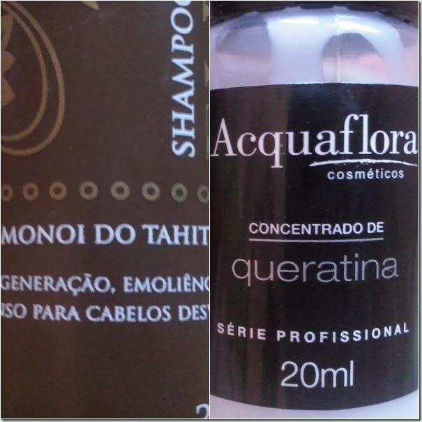 Kit Verão e Queratina- Acquaflora