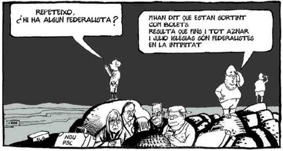 federalisme en dessenh d'umor