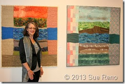 Sue Reno, PAE Gallery, Art Quilts