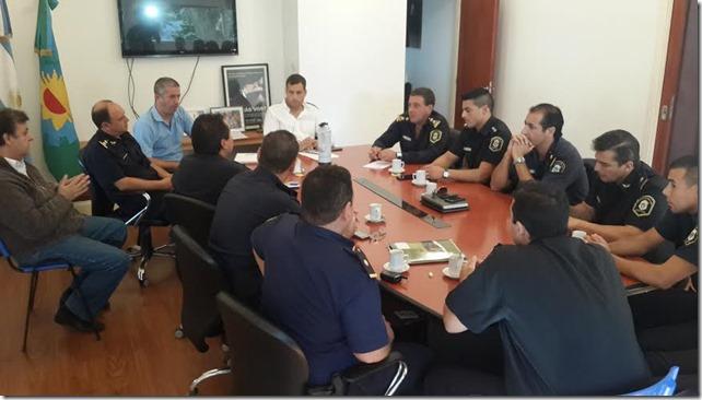 La Policía manifestó las necesidades que tienen las fuerza así como también destacó la fuerte labor que se realiza de manera conjunta para prevenir el delito