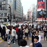 such a busy street in Shibuya, Tokyo, Japan