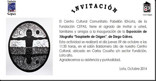 Invitacion Diego Galvez