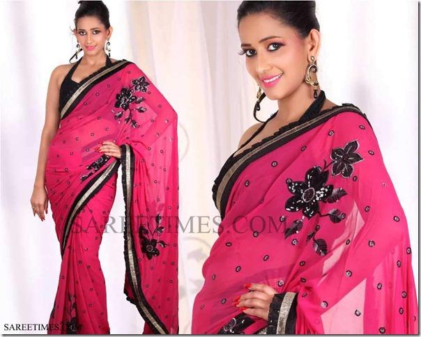 Sanjana_Singh_Pink_Saree