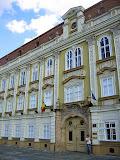 The Art Museum from Piata Unirii in Timisoara