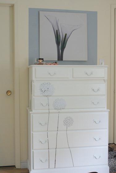 budget bedroom makeover at Junkin Junky