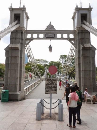 Cavenagh Bridge, Singapore