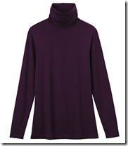 Uniqlo turtle neck top