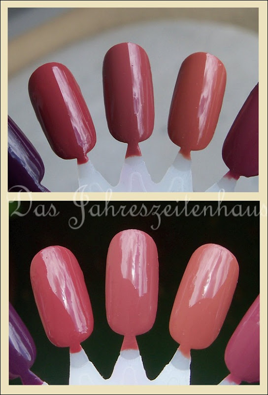 Dupevergleich Essie In Stitches Essence English Rose Manhattan 59L 3