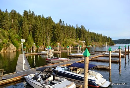 Marina at Couer d'Alene