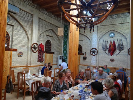 28. Restaurant in Khiva.JPG