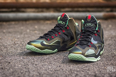nike lebron 11 gr king of the jungle 3 04 kings pride Release Reminder: LEBRON 11 Kings Pride / King of the Jungle