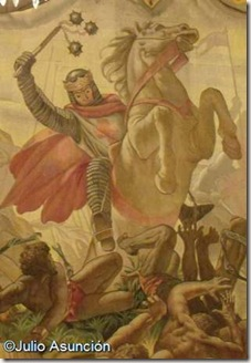 Tapiz de la Batalla de las Navas de Tolosa - Palacio de Navarra - Pamplona