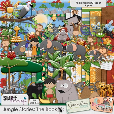 Jungle Stories - The Book