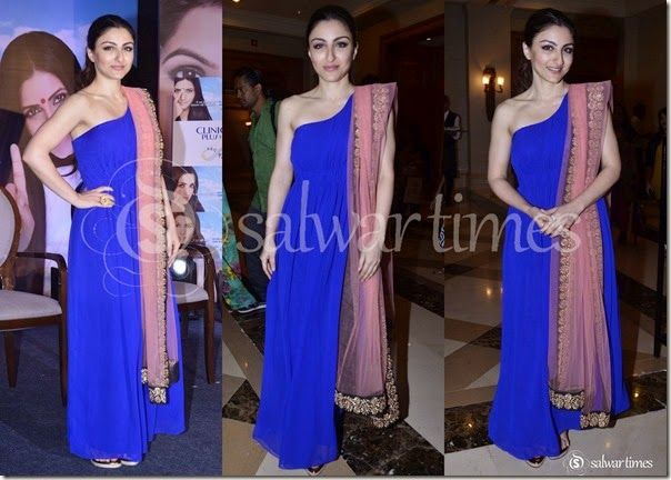 Soha_Ali_Khan_One_Shoulder_Salwar_Kameez