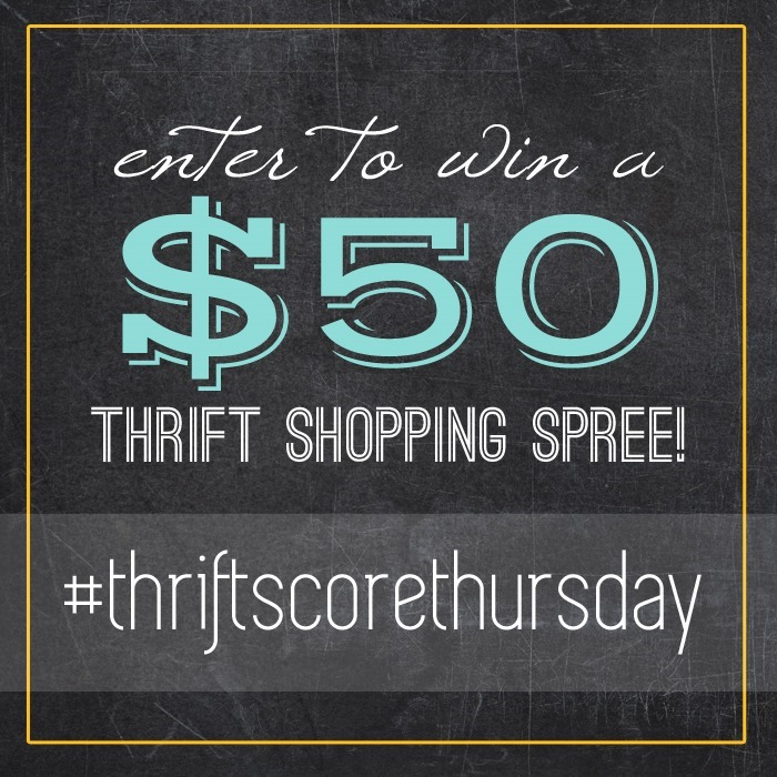 thrift score thursday giveaway