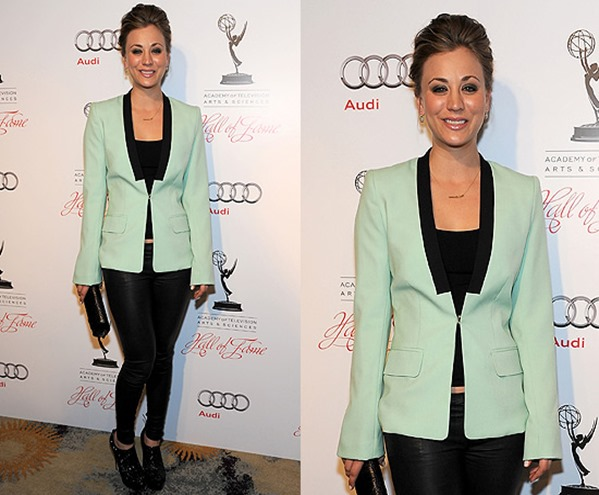 kaley-cuoco-alc-mint-blazer