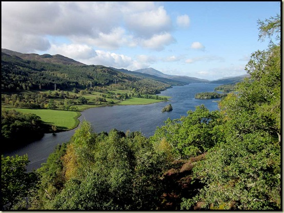 Queen's View, with Loch Tummel and Schiehallion