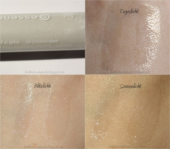 essence Lipgloss 02 Diamond Dust Swatches